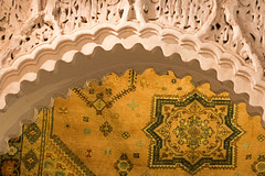 Medina Arch & Tapestry (jarhtmd) Tags: africa morocco marrakesh canon eos70d arch pattern