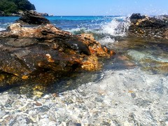🌊 (__jo_) Tags: greeksummer greece hellas pilio volos seaside sea sealife beach beachlife pic photography photo vacation trip colours colour colors color blue sky water rock rocks stone stones nature beauty