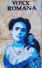 Voxx Romana (BE'N 59. Street photographer) Tags: voxxromana fridakahlo salmahayek streetart globalstreetart amsterdamstreetart