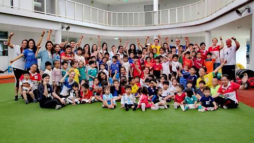 World Cup celebrations at SISB, Chiang Mai. International school education.