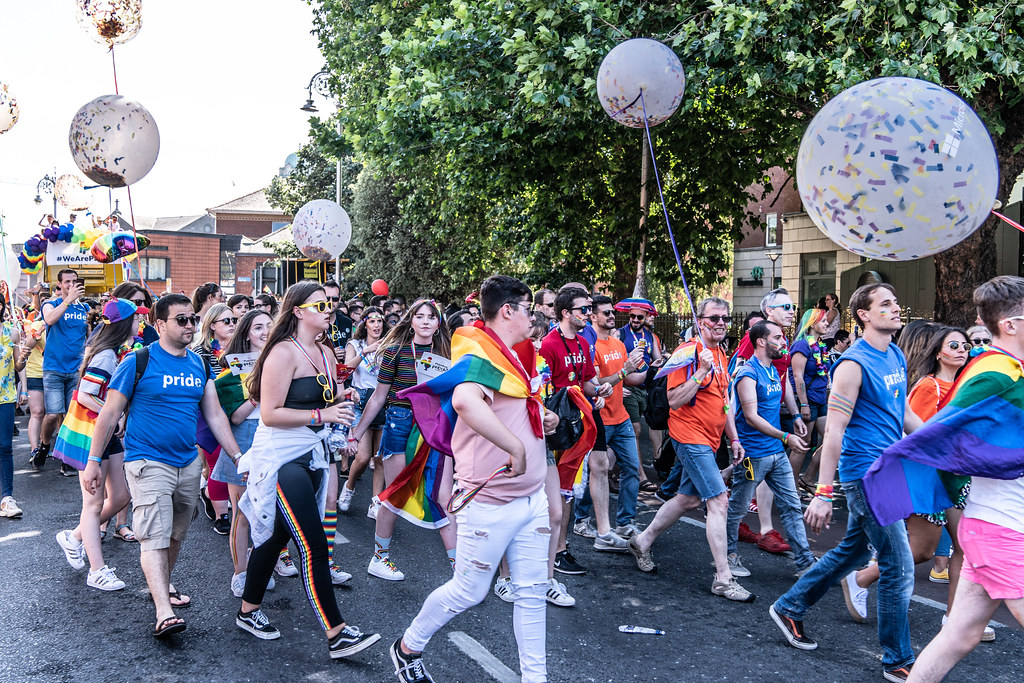 ABOUT SIXTY THOUSAND TOOK PART IN THE DUBLIN LGBTI+ PARADE TODAY[ SATURDAY 30 JUNE 2018] X-100125