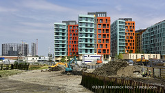 Enderby's Wharf (© Freddie) Tags: london greenwich se10 enderbyswharf enderbywharf eastgreenwich northgreenwich greenwichpeninsula thamesfootpath olympianway thames riverthames fjroll ©freddie samuelenderbysons submarinecommunicationcables londoncitycruiseport listed enderbyhouse cruiseterminal contractors hiviz ppe workers construction gordianapartments lariatapartments bowlinecourt trefoilcourt osselcourt poldohouse gardahouse taggaphouse