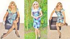 collage two (Katvarina) Tags: transgender transpeople tgurl tgirl crossdress crossdresser crossdressing kat housewifedress transsexuality metrosexuality