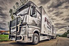 ACX IV (johan.bergenstrahle) Tags: 2018 evening finepicsse fordon hdr june juni lastbil mercedes sommar summer sverige sweden truck umeå acx