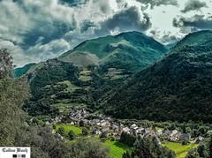 Orage Panorama (http://pays.basque.coline-buch.fr/) Tags: 64 aquitaine aquitainelimousinpoitoucharentes borce béarn colinebuch france hautbéarn pyrénéesatlantiques campagne ciel montagne nature nuages orage valléedaspe village