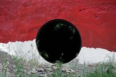 (Kirill Dorokhov) Tags: crime blood theshining abstract hole dark contemporaryart art wall red