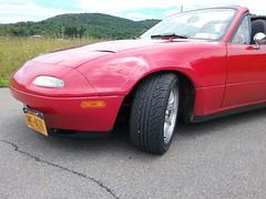 (addlightness) Tags: mazda miata mx5 supermiata 949racing xida roadster coilover suspension yokohama tire advan neova ad00r ad08