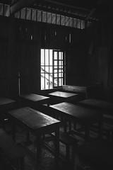 Classroom (Sébastien Casters) Tags: black white vietnam classroom