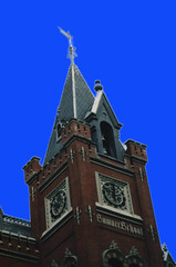 Washington DC   -  Historic Sumner School Clock Tower (Onasill ~ Bill Badzo) Tags: washington dc historic sumner shcoolclock tower blue scky charles negro black africanamerican central nrhp senator landmark clock unitedsttaes publicschool columbia