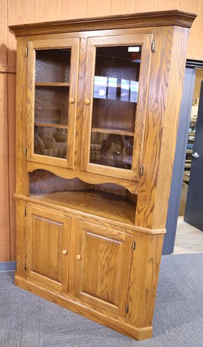 House of Oak Corner Cupboard ($616.00)