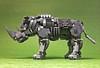 LEGO Mecha Rhinoceros-02 (ToyForce 120) Tags: lego robot robots mecha mech mechanic legomech legomoc