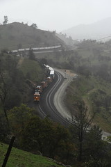 UP 6ZSTWSJ-07 (caltrain927) Tags: union pacific railroad bnsf railway burlington northern santa fe loaded intermodal double stack container train ge es44c4 c4 gevo ac dash 944cw c449w es44ac tehachapi marcel california ca