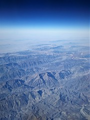 flying over the Middle East (SM Tham) Tags: middleeast iran mountains terrain sky aerialview aeroplane