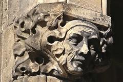 Dom van Utrecht # 8 (just.Luc) Tags: utrecht holland sculpture escultura face gezicht visage gesicht kathedraal cathédrale cathedral domvanutrecht stmartinscathedral monochrome monochroom monotone nederland paysbas niederlande netherlands europa europe