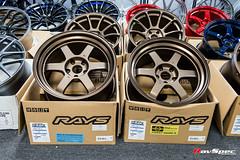 RAYS Volk Racing Te37V Mark II 18x10 +15 Bronze (BR) (RavSpec) Tags: rays volk racing te37v mark ii 18x10 15 bronze br