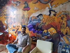 20180419_141058 (Alegraziani Produto Ilustrado (11) 96175.8787) Tags: arte papeldeparede artistabrasileiro art artwork artist economiacriativa empreendernasartes artebrasileira parede pinturaemparede tvcena arteemjudiai