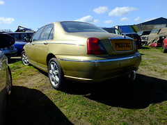 Rover 75 Jubilee Gold . (steven.barker57) Tags: rover 75 diesel car rare colour jubilee gold uk england hartlepool vehicle british britain