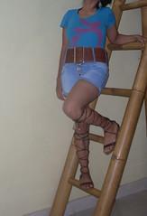SDC11435 (ikat.bali) Tags: belt widebelt gürtel fashion outfit amateur photomodel fotomodell fetish frau girl leder leather breitegürtel