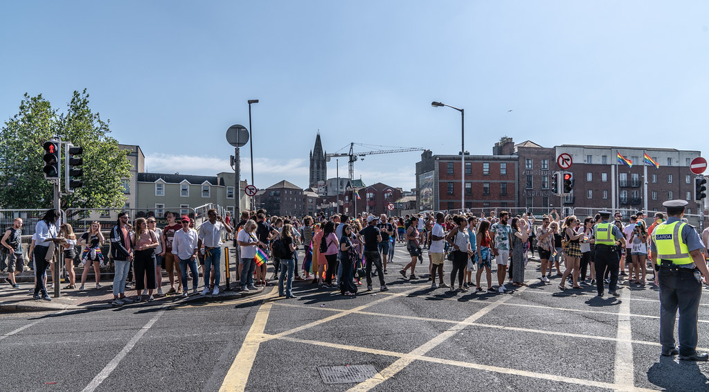 ABOUT SIXTY THOUSAND TOOK PART IN THE DUBLIN LGBTI+ PARADE TODAY[ SATURDAY 30 JUNE 2018] X-100024