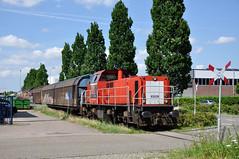 DBC 6509 met gesloten wagens, Alphen a/d Rijn, 21-07-2017 (Michael Postma) Tags: elektrolux db dbc dbcargo 6509 6400 6500 alphenadrijn