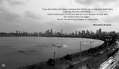 Inspiring Quotes (Aniruddha1978) Tags: inspiring quotes dhirubhai ambani clicked india