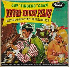 Rough-House Piano Record (  Capitol ) (Donald Deveau) Tags: record capitol roughhousepiano joefingerscarr vinyl album ragtime honkytonk