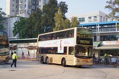 KMB Volvo B10TL 10.6m KA9608 968 (Thomas Cheung Bus Photography) Tags: bus hong kong public transport mass transit street volvo b9tl kmb kowloon motor double decker doubledecker superolympian super olympian alexander alx500