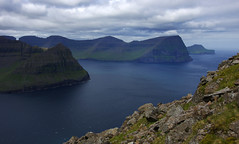 Villingardalsfjall and Cape Enniberg (Northern Adventures) Tags: faroe faroes faroeislands july trip exploration adventure outdoors scenery scenic nature hike hiking walk walking deepnorth view vista overlook pristine viewpoint