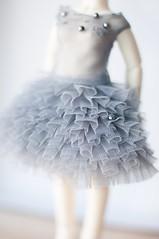 (PblCb) Tags: dress bjd grey craft pipos ocharlotte bokeh 50mm nikon