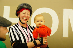 102 (Bawdy Czech) Tags: lcrd lava city roller dolls spit fires basin bombers bend oregon or skate wftda flat track april 2018 bout