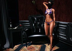 About Me (kare Karas) Tags: woman lady femme girl girly sweet cute beauty sensual sexy sassy seduce seductive night games virrtual avatar secondlife fun indoors event mesh bento style july summer soul lic fashiowlposes ella lop limit8