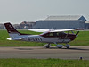 G-CWTT Cessna 182 Skylane (SteveDHall) Tags: aircraft airport aviation airfield aerodrome aeroplane airplane lightaircraft generalaviation ga blackpool blackpoolairport 2018 gcwtt cessna c182 skylane cessna182skylane cessna182