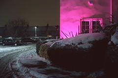 (danny.rowton) Tags: mediumformat 120 slidefilm provia snow pink winter analog gw690 gw690iii e6