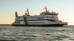 Ro-Ro/Passenger Ship Nordfriesland, W.D.R. Wyker Dampfschiffs-Reederei Föhr-Amrum, Dagebull, Germany (EmoHoernRockZ) Tags: 2018 alphaemo amrum de dagebull deutschland emohoernrockz ferry germany nychennecom nordfriesland northsea passengership schiff schleswigholstein sea strucklahnungshorn strucklahnungshã¶rn summer vessel wdr wyk föhr fähre wdrwykerdampfschiffsreedereiföhramrum dagebüll