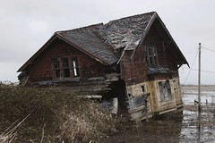 Svenson Island (SkylerBrown) Tags: abandoned architecture flood gothic oregon overcast pacificnorthwest pnw rural svensenisland svensonisland