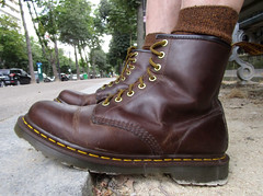 DrMartens1460Brown2 (Perlimplim) Tags: 1460 brown drmartens