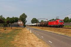 DBC 193 303 + Unit Cargo | Boxtel, 19-7-2018 (Arnoud - Fotografie) Tags: trein train zug boxtel goederentrein guterzug dbc gremberg rail railway railroad uc unit cargo canon vectron siemens 193303 brabantroute