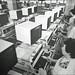Soemmerda, 1985. Testing Robotron PC 1715 machines at BWS. (stilo95hp) Tags: bws soemmerda robotron pc1715 1985 ddr gdr