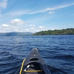 Loch Lomond, Scotland. (YoonHaa) Tags: travel scotland canoe lochlomond lake landscape unitedkingdom balloch blue sky