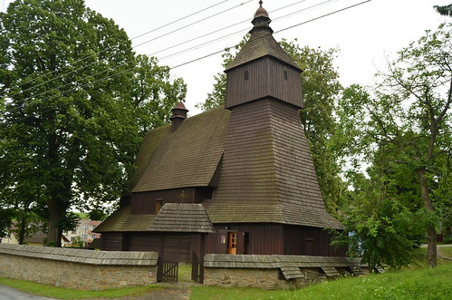 The wooden church of Hervartov