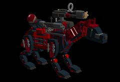 SE85SNA3xEpicyon-Mech1 (demitriusgaouette9991) Tags: lego military army ldd armored animal powerful epicyon deadly droid mecha flames runner robot