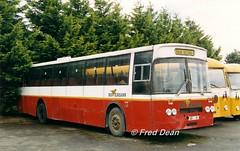 Bus Eireann MGS68 (68IK). (Fred Dean Jnr) Tags: buseireann leyland leopard mgs68 68ik ik thurles tipperary thurlesdepottipperary june1998 busscoile schoolbus