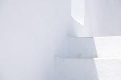 White As Snow (sdupimages) Tags: abstrait abstract voyage travel greece santorini pyrgos whiteonwhite happysos minimalisme minimalism emptyness white blanc stairs escaliers architecture