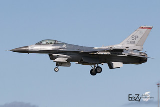 90-0818 United States Air Force General Dynamics F-16C Fighting Falcon