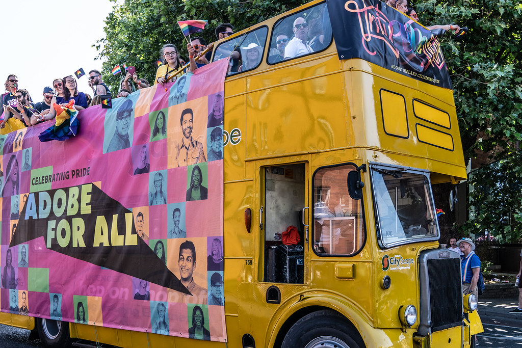 ABOUT SIXTY THOUSAND TOOK PART IN THE DUBLIN LGBTI+ PARADE TODAY[ SATURDAY 30 JUNE 2018] X-100143