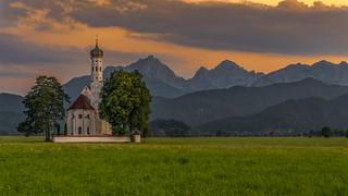 Consecrated ground in the mountains - Eine geweihte Stätte in den Bergen