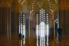 Hassan II Mosque Interior (jarhtmd) Tags: morocco architecture africa bldg bldgdetail building casablanca eos eos70d indoor mosque religious