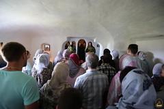 16. Рождество Иоанна Предтечи в пещерной церкви 07.07.2018