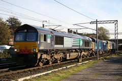66402+37038+47237 (Cumberland Patriot) Tags: macquarie group drs direct rail services gm general motors jt42cwr emd 12n710g3bec engines shed dred class 66 664 66402 37038 47237 dieselelectric diesel electric locomotive loco motive power kd kingmoor tmd traction maintenance depot carlisle caldew junction cumbria wcml west coast main line light train catenary overhead lines electrified route track railroad