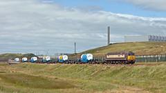 A New, Clear Opportunity (Richie B.) Tags: 6x24 kxa pfa sellafield cumbria drs direct rail services brush traction general motors class 57 57305 57312